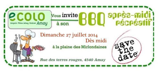 BBQ annuel aux Mirlondaines 2014